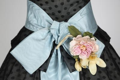 """Detalj av """"Dior-kjole"""""""