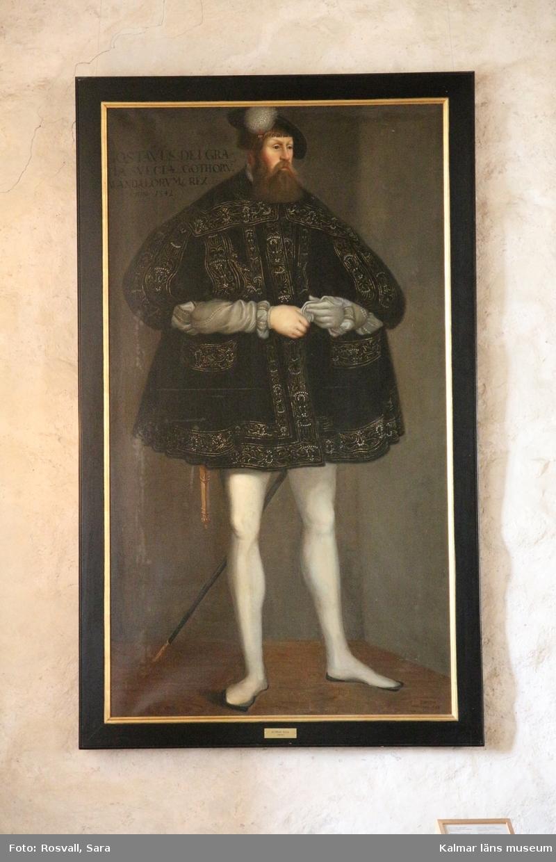 Gustav Vasa i helfigur.