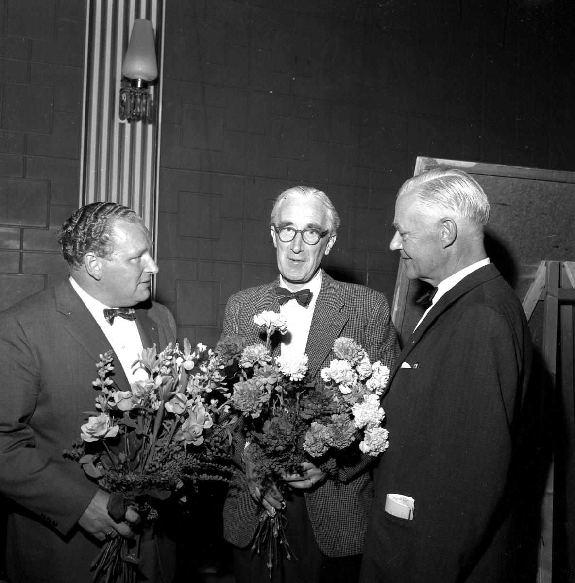 Slakteriföreningens årssstämma. 7 juni 1958.