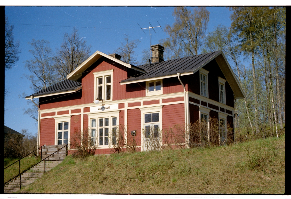 Långban station.