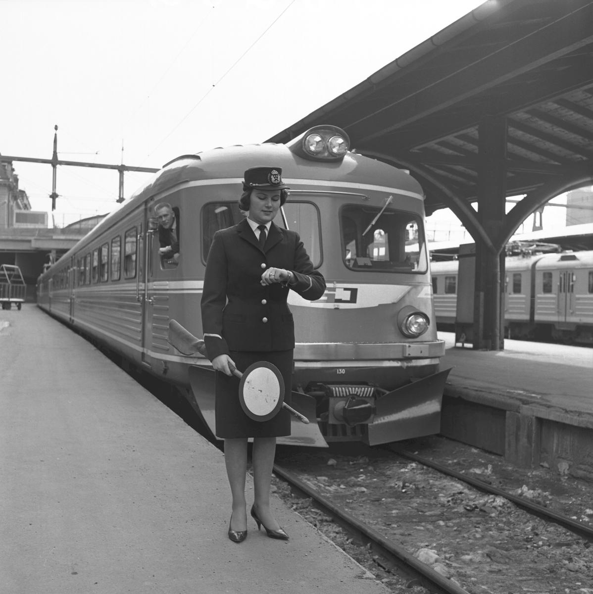 Tågklarerare. Statens Järnvägar, SJ Yoa2 130.