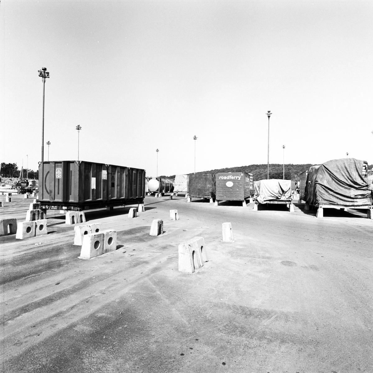 Containerhantering Skandiahamnen Göteborg