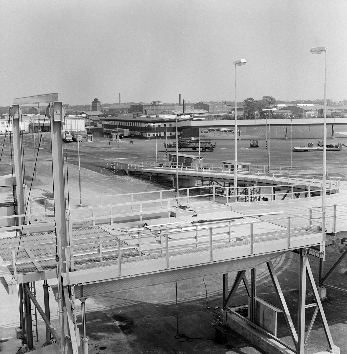Terminalen i Ystad.