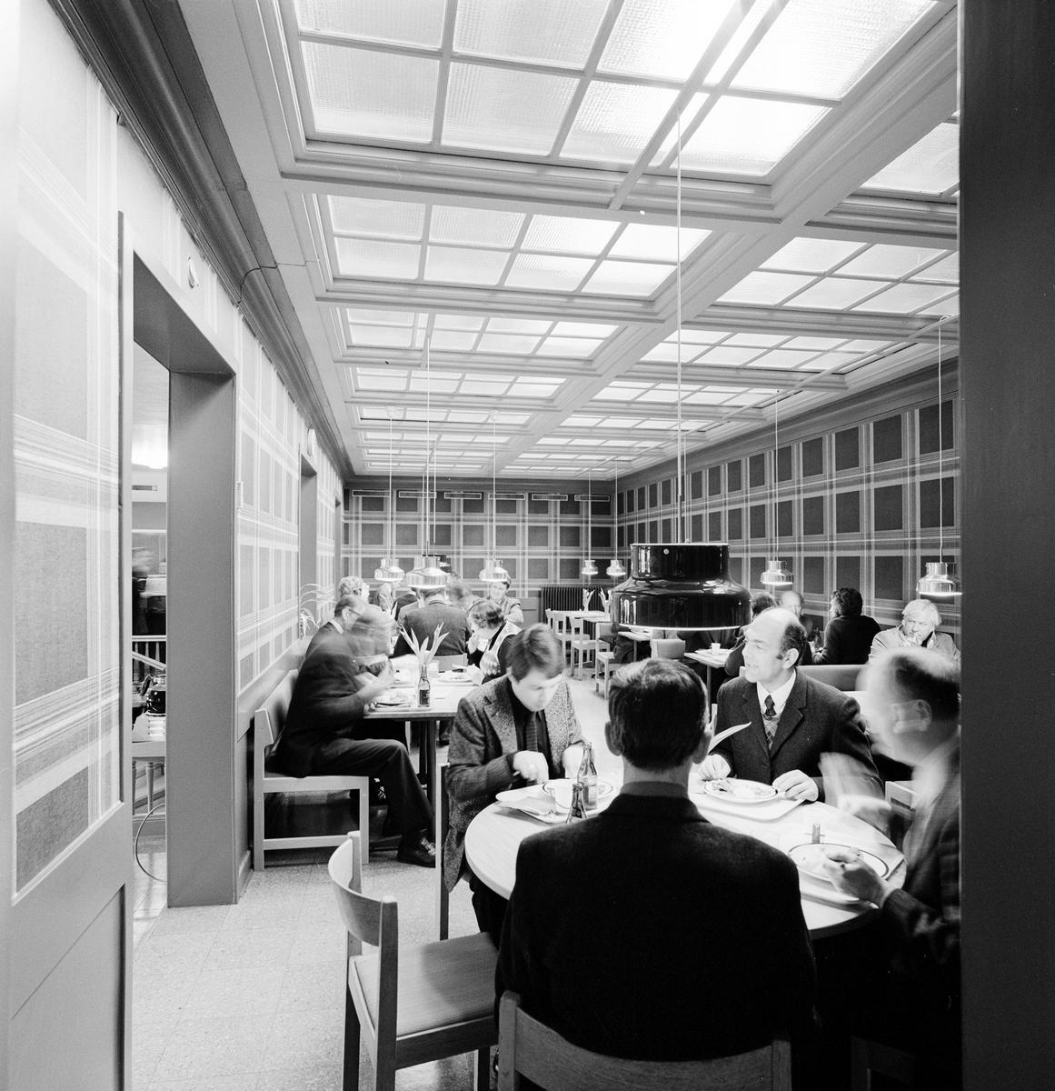 Nyöppnade Lunchrummet Gråsparven, Centralstationen.