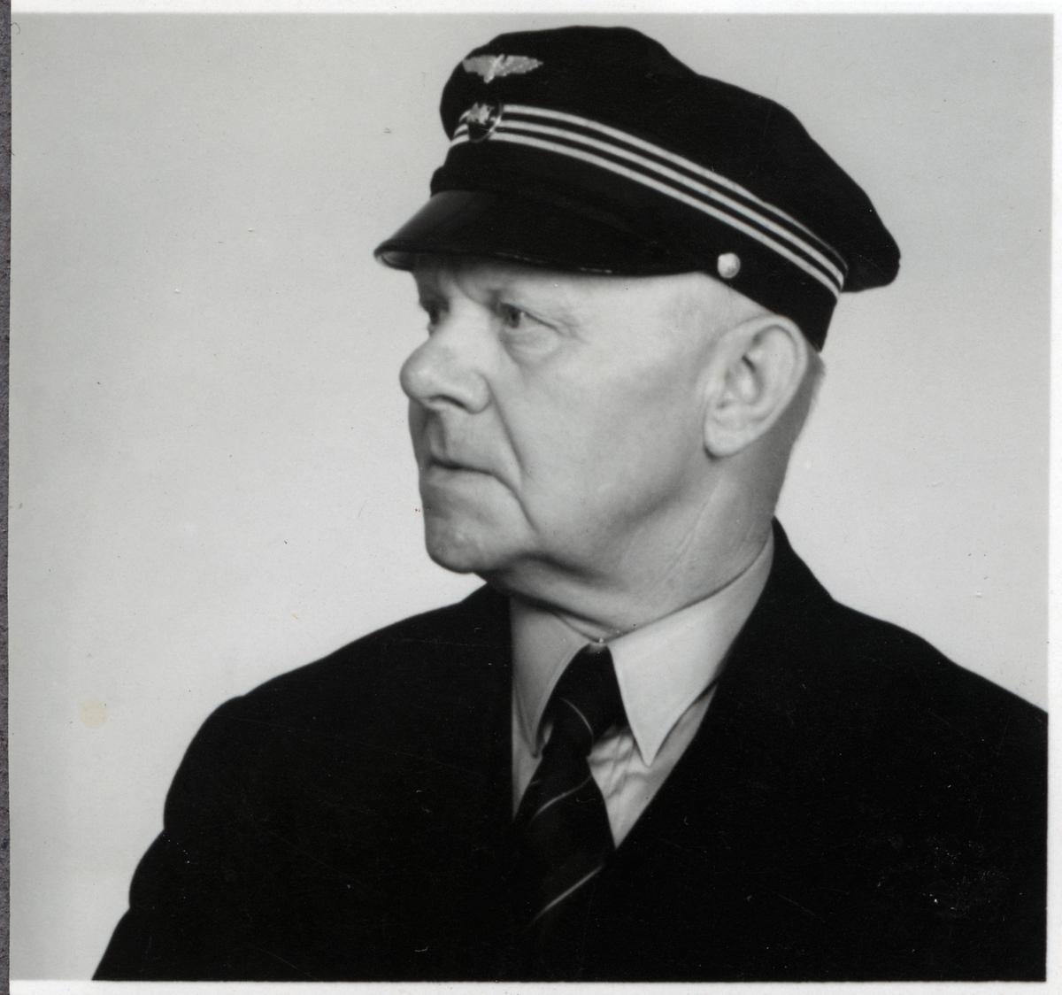 Lokförare Bernhard Andersson.