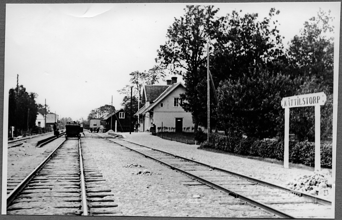 Kättilstorp station.