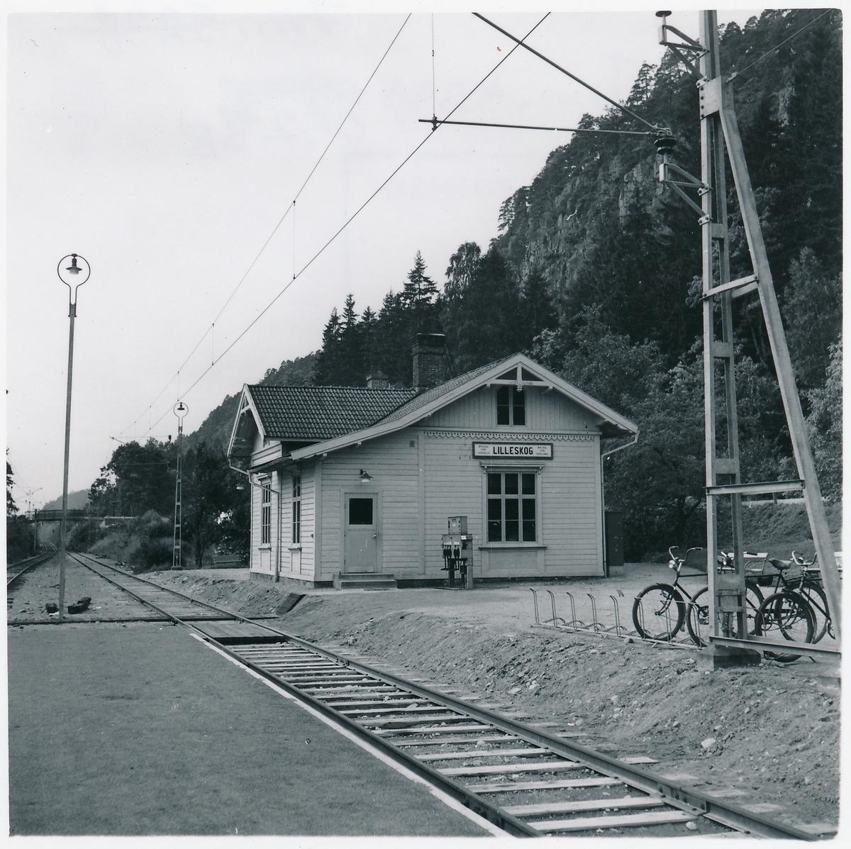 Uddevalla - Vänersborg - Herrljunga Järnväg, UWHJ  Lilleskogs Station