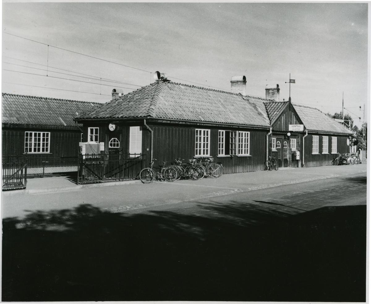 Östersunds Västra station.