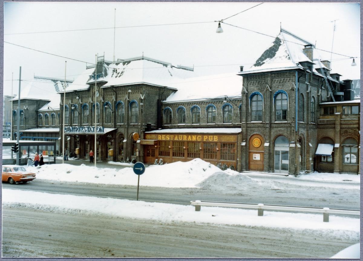 Göteborgs centralstation, exteriör. Restaurang/Pub