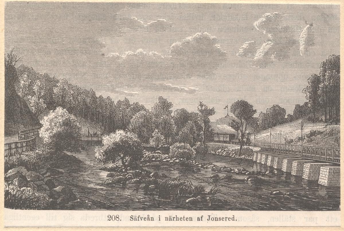 Bro över Säfveån.