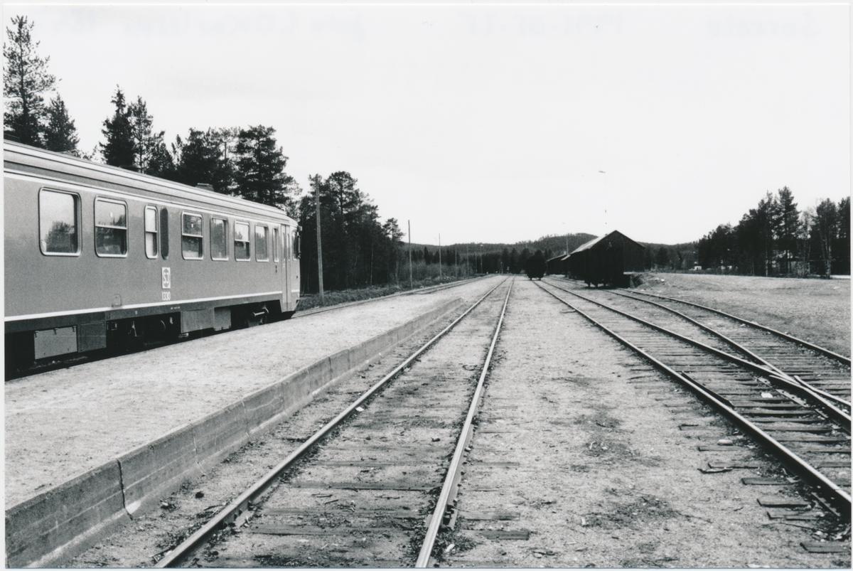 Sorsele bangård. Statens Järnvägar, SJ YFI 1330