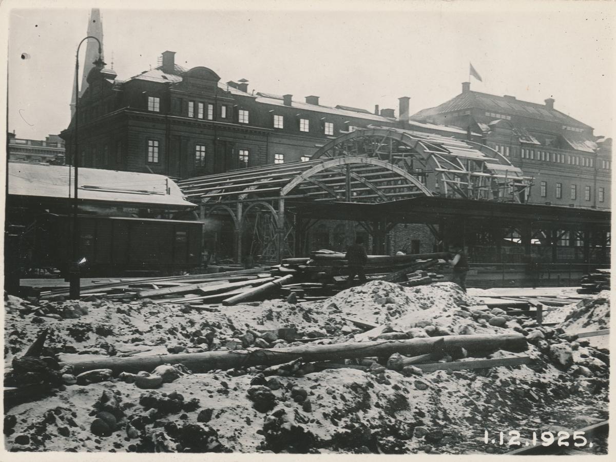 Banhallen vid Centralstationen