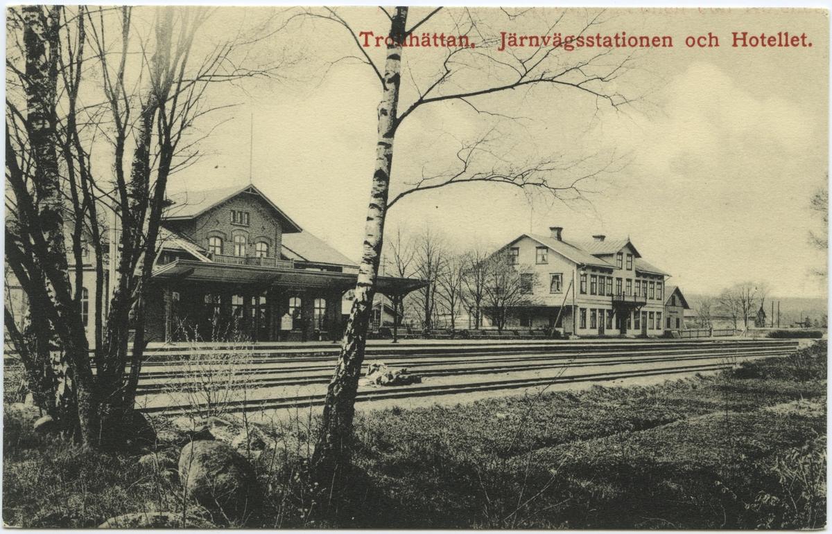 Stationshuset i Trollhättan.