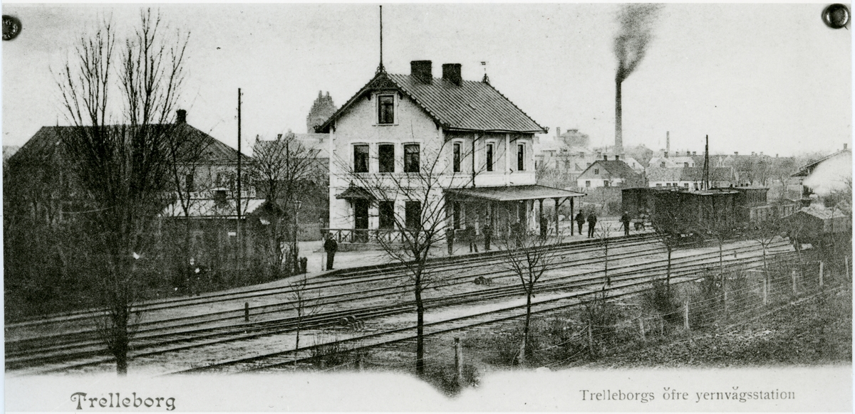 Trelleborg Övre station.