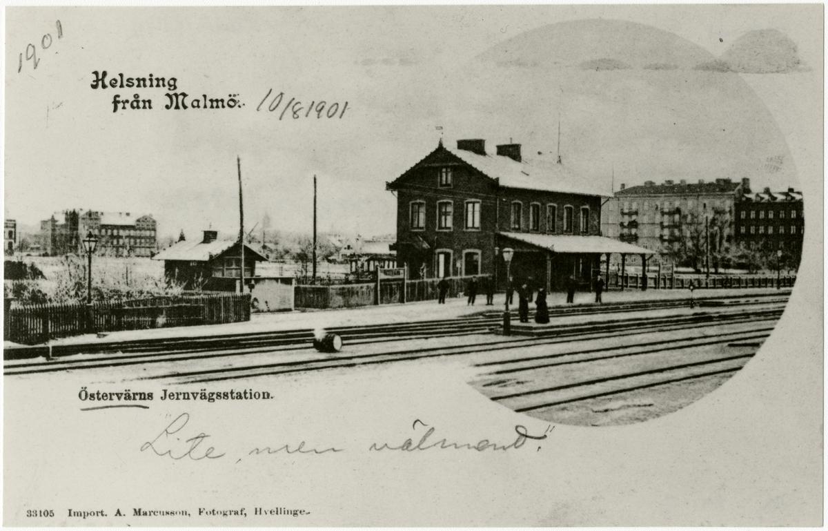 Östervärns station.
