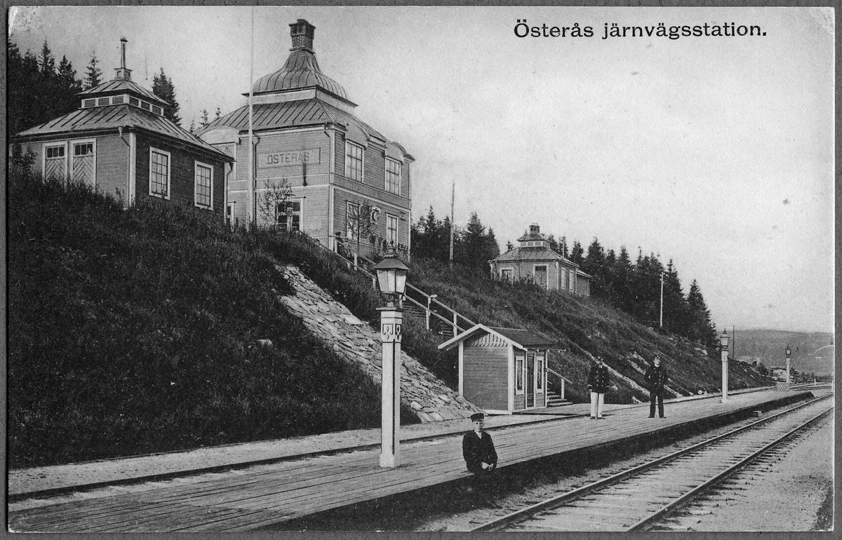 Stationen i Österås.