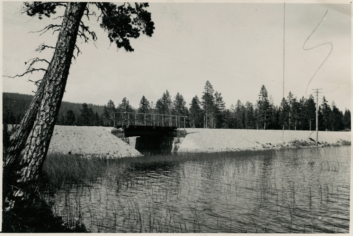 Järnvägsbro över Skutejaure. Järnvägen som går genom Jokkmokks område sträcker sig över många vattendrag, bäckar, åar och älvar. Broarna som byggdes över de anpassades till terrängen. De var framförallt funktionella men, deras utseende gick från väldigt enkla, grovhuggna till sublima, estetiskt utformade valvbroar.