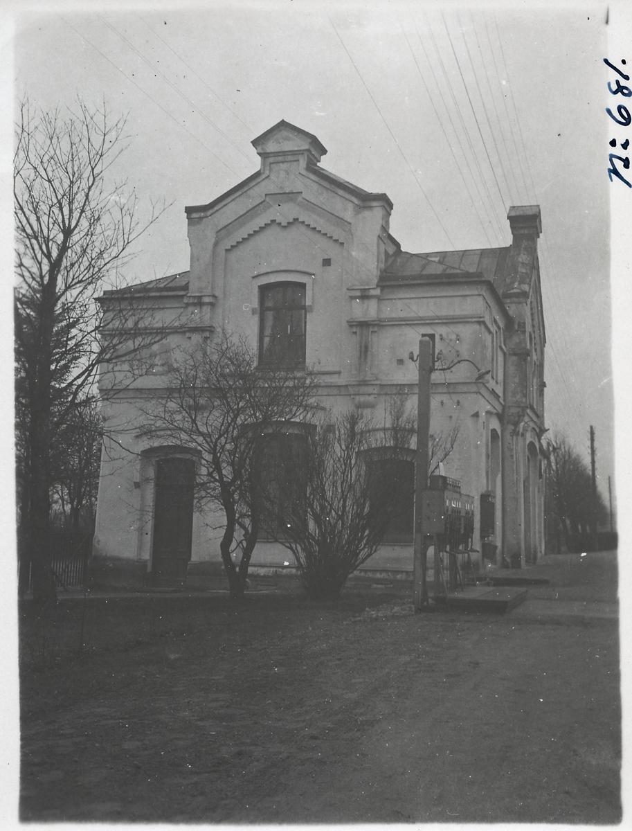 Getinge station.