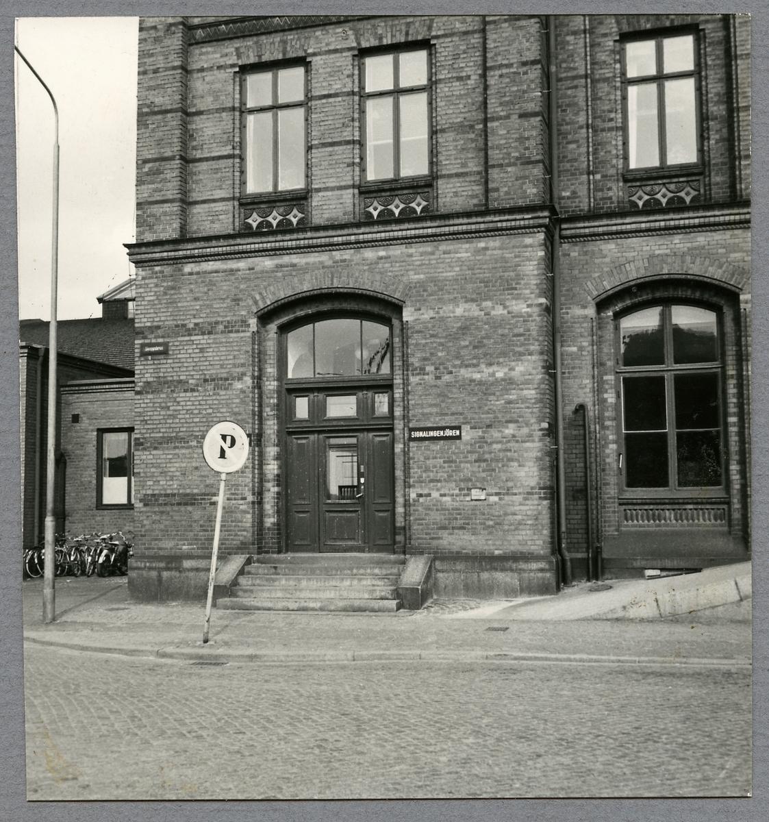 Signalingenjören på Malmö Centralstation.