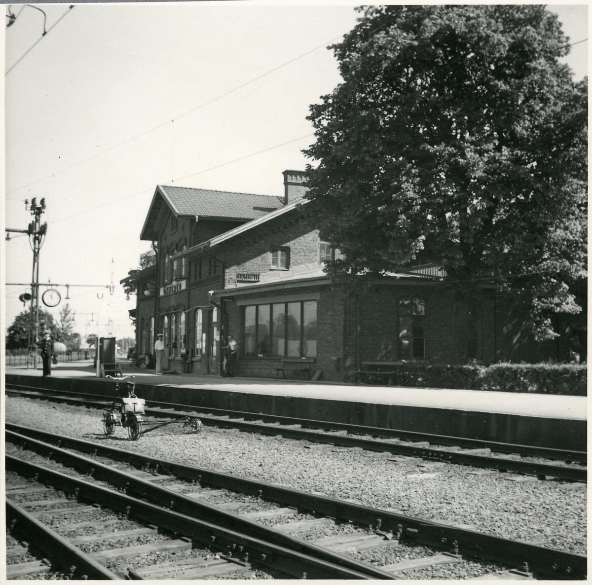 Öxnered stationshus.