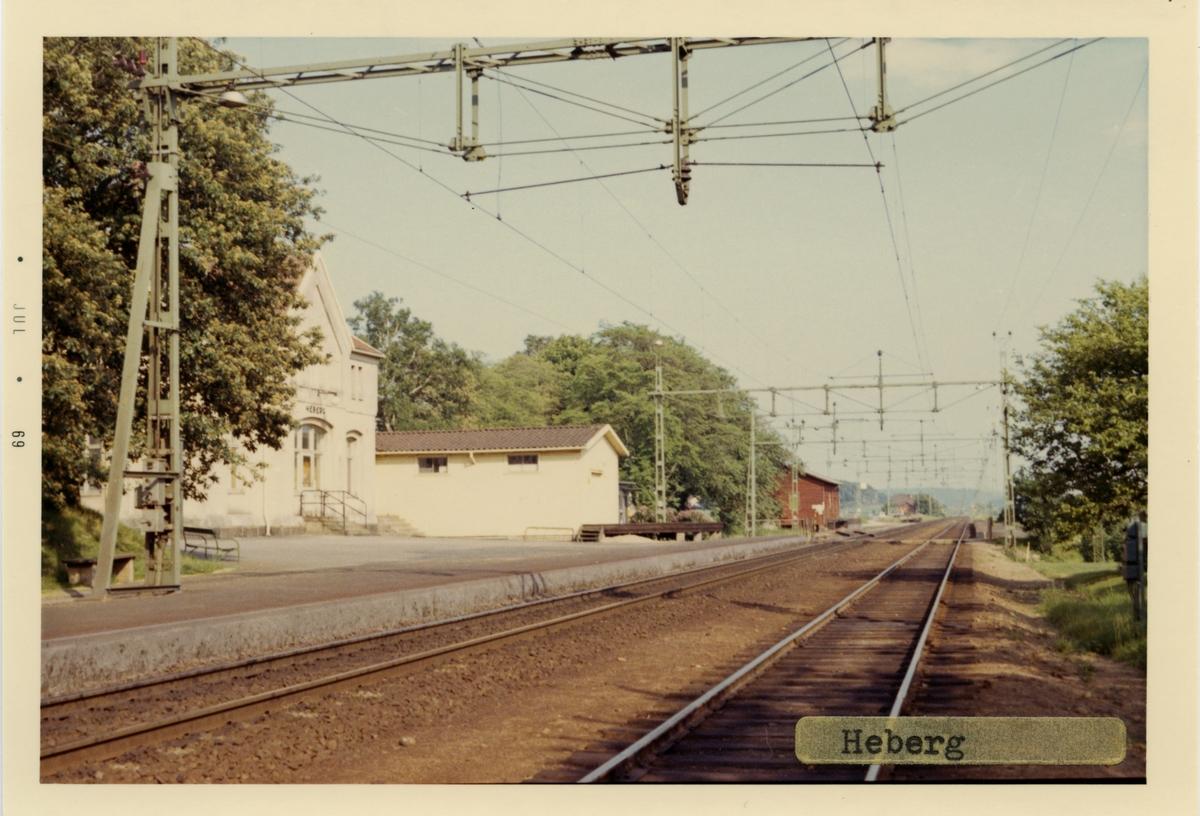 Stationshuset byggdes1886.