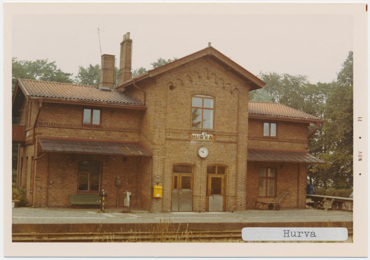 Hurva station.