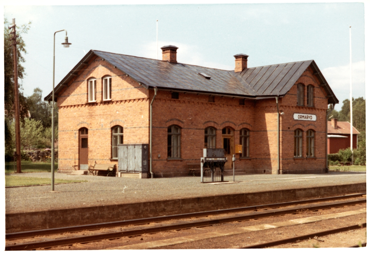 Ormaryd station.