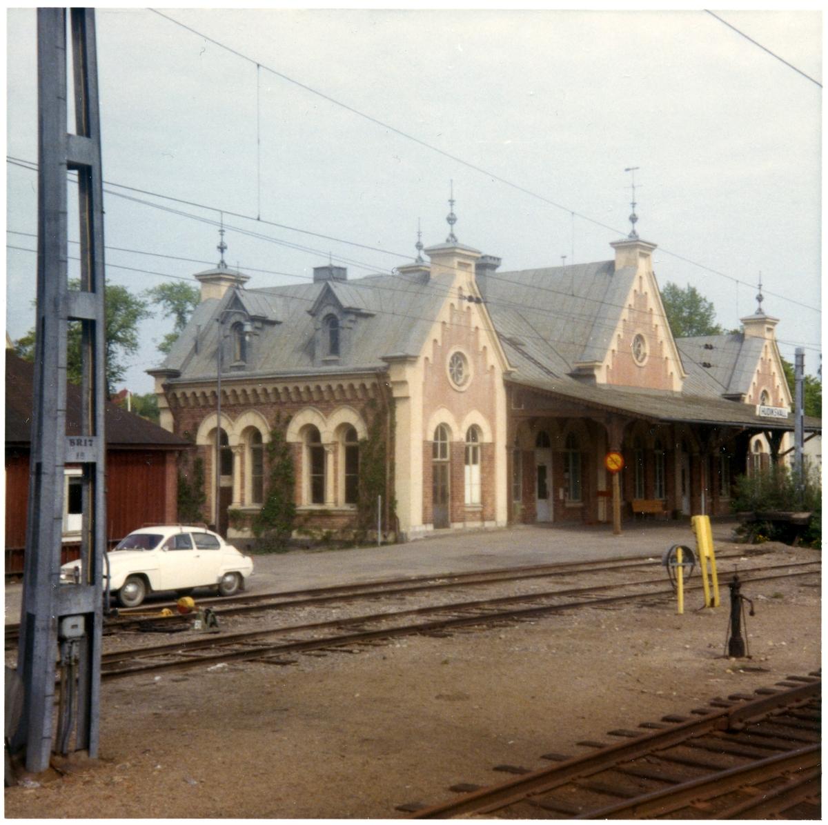 Hudiksvall station.