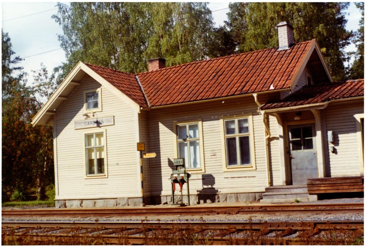Gårdnäs station.