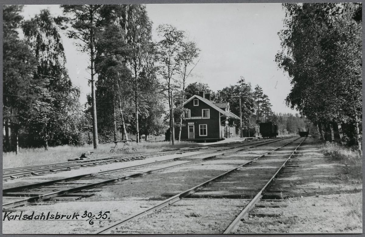 Karlsdalsbruk station.