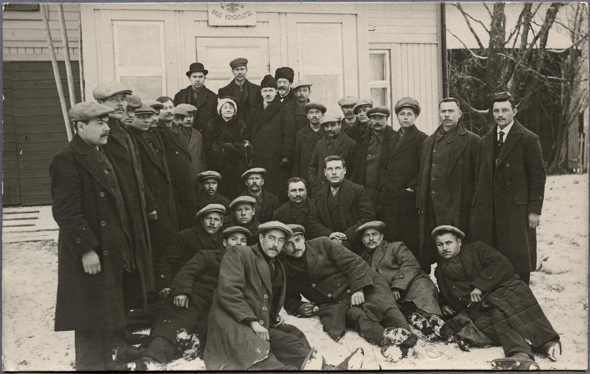 Finska landsmän under krigsåren.