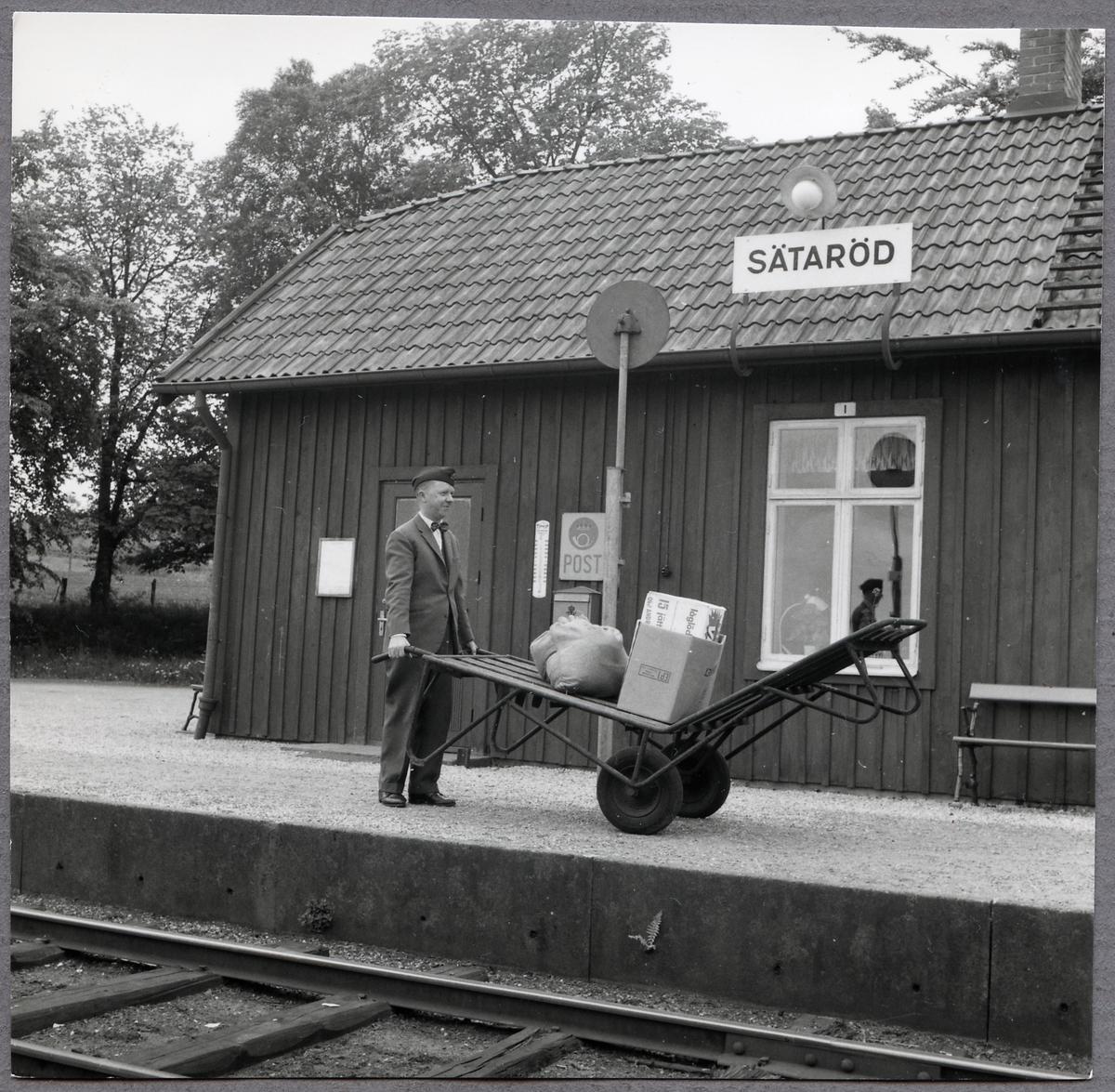 Platsvakt Liljeqvist i Sätaröd.