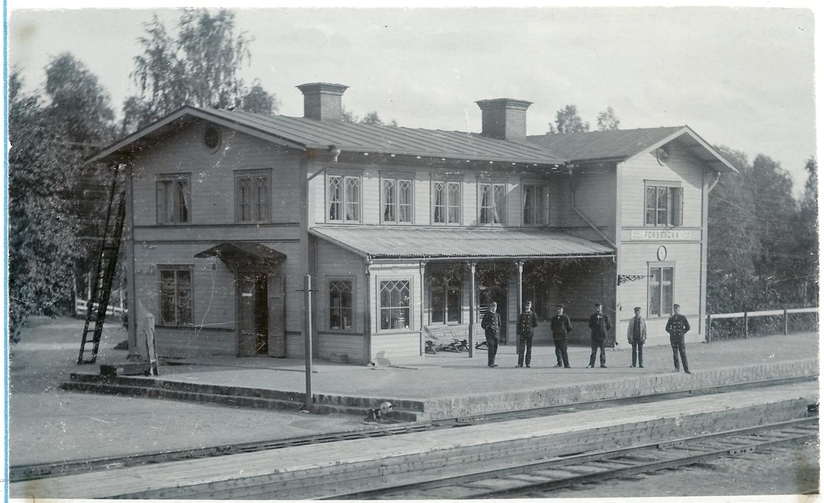 Forsbacka station.