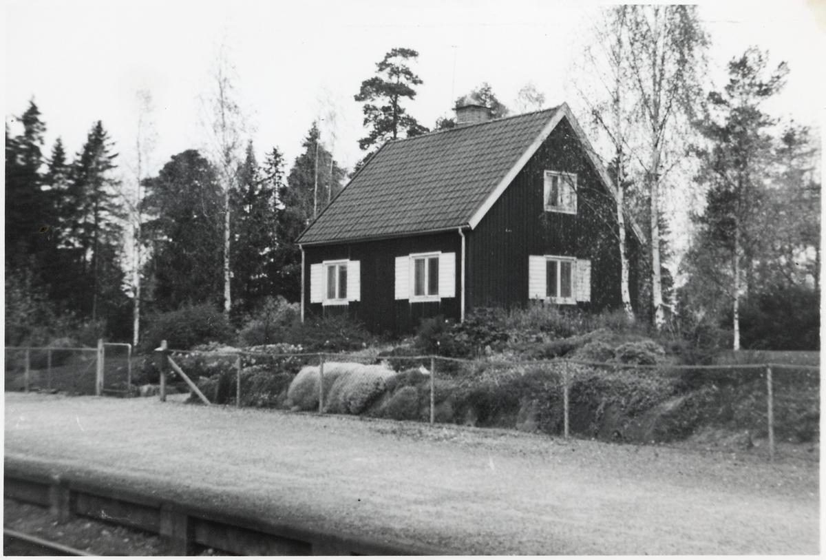 Furuvik, hus 9A. Tjänstebostad. På sträckan mellan Furuvik och Knaperåsen.