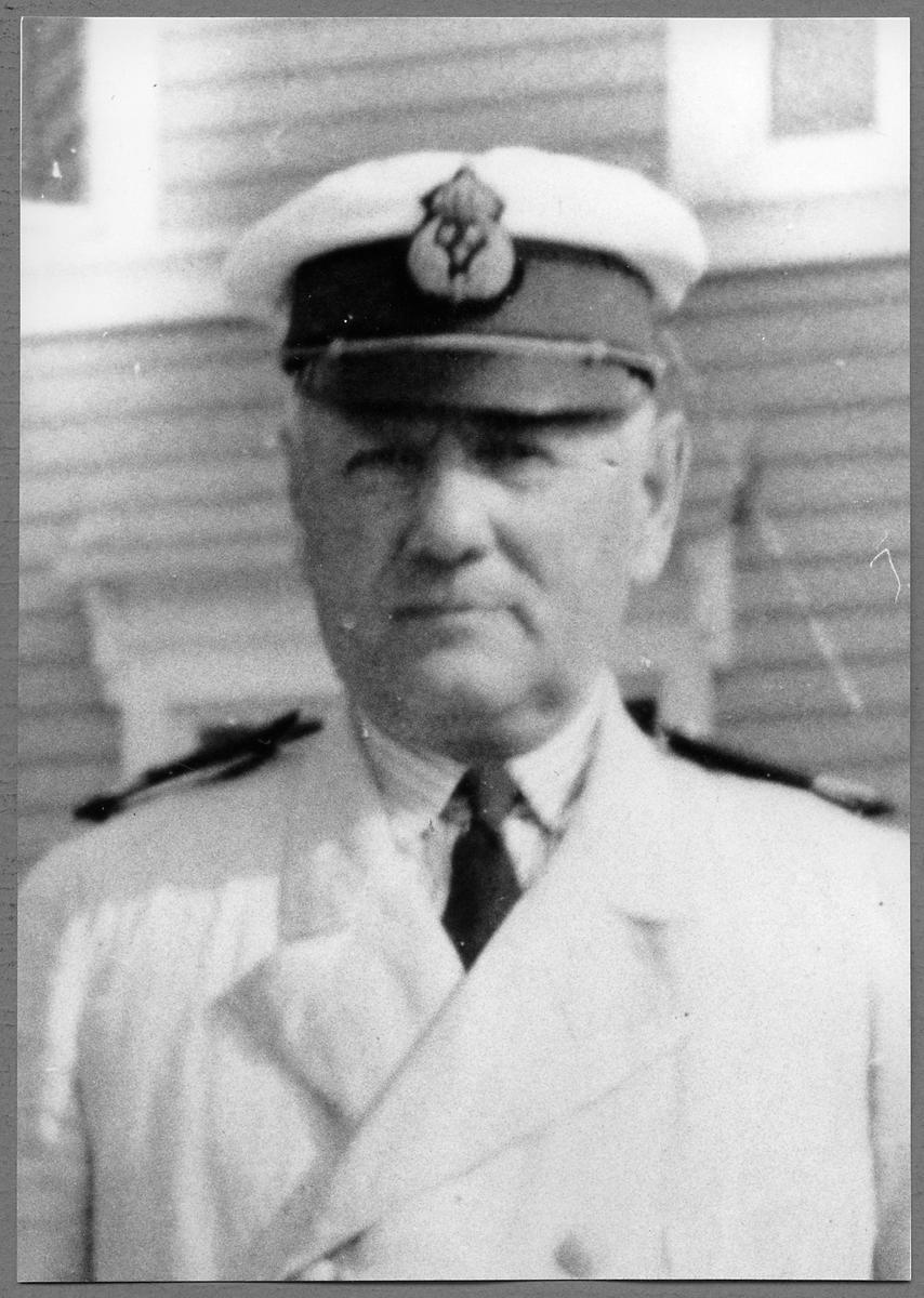 Stationsföreståndare David Birger Henricson.