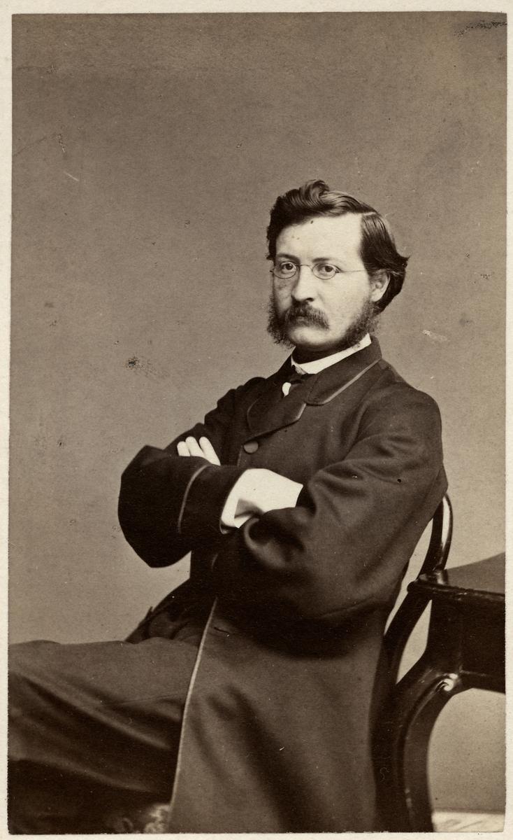 Erik Vilhelm Lilliesköld kamrer vid Järnvägsstyrelsen 1863-1900.