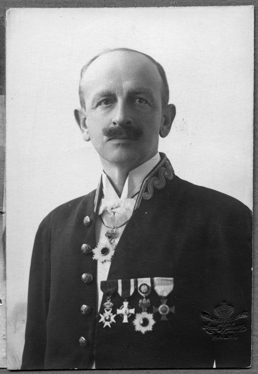 Legationsråd Fredrik Rappe.