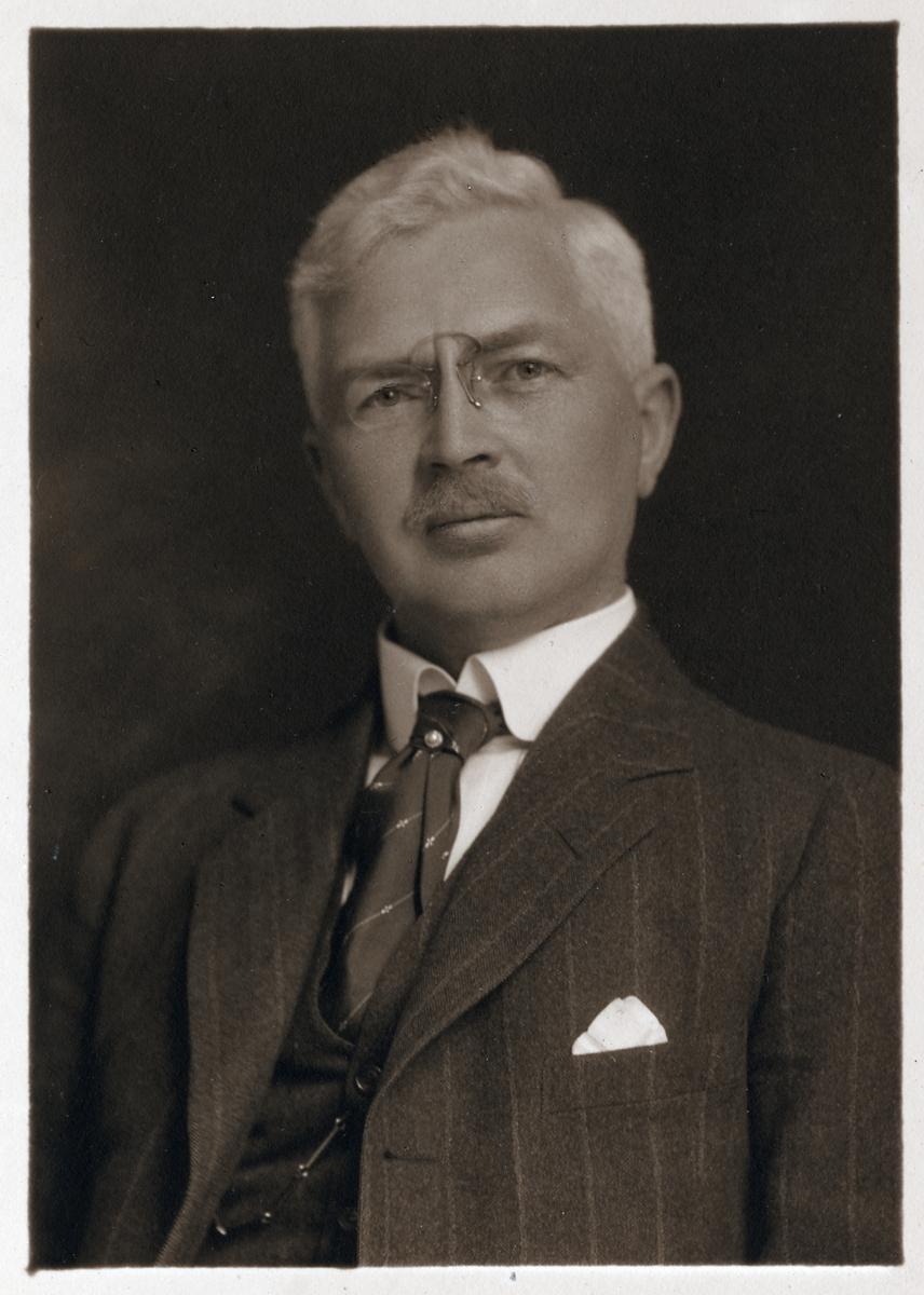 Bankdirektör Carl Sjunneson.