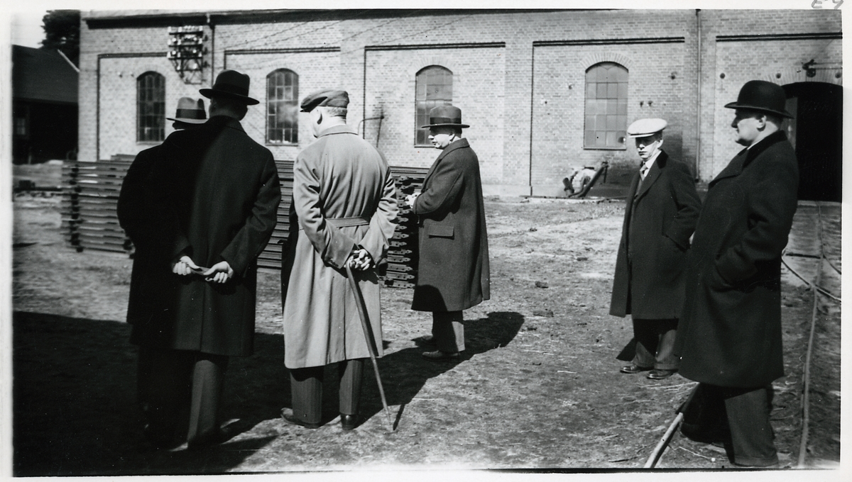 Utanför torvpulverfabriken i Vislanda, på linjen Alvesta - Älmhult.