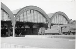 Banhallen på Malmö Central.