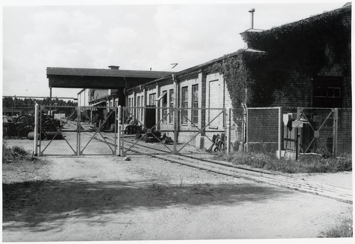 Industrispår till Nordströms linbanor.