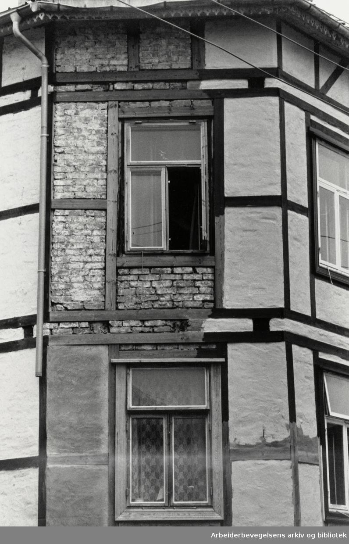 Filips gate 2. Dårlig vedlikehold. August 1988