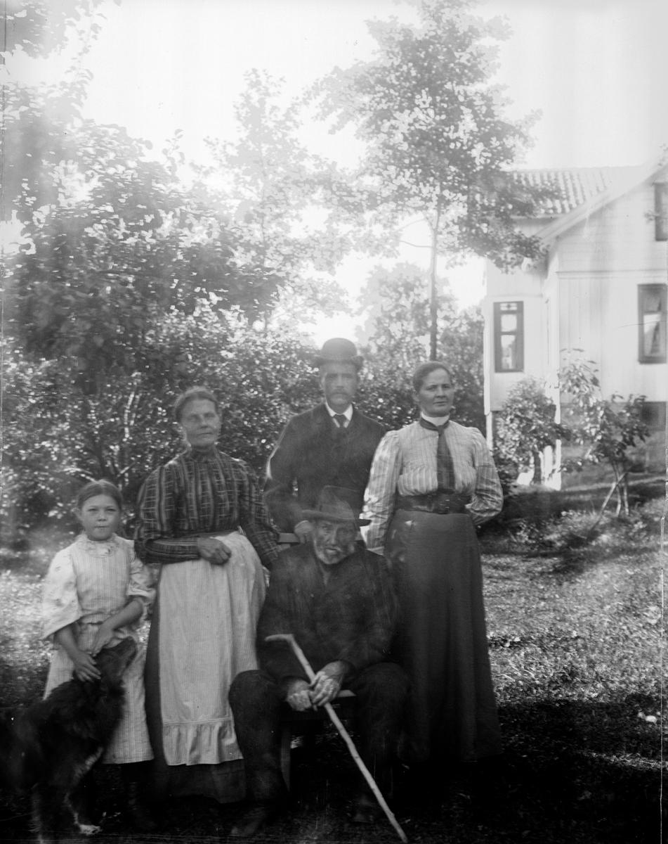 """Enligt text som medföljde bilden: """"Flatön 1908."""""""