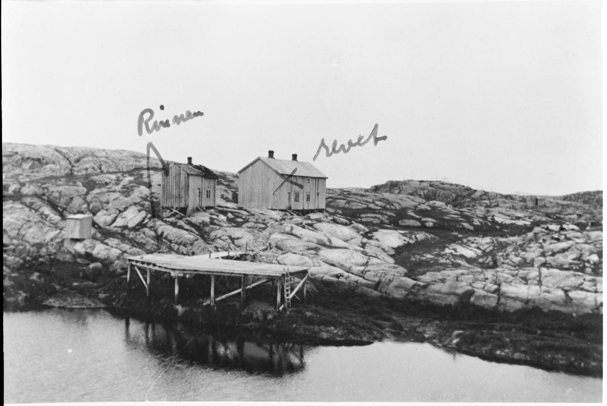 Rorbuer på Rorsøya, Halten, Frøya.