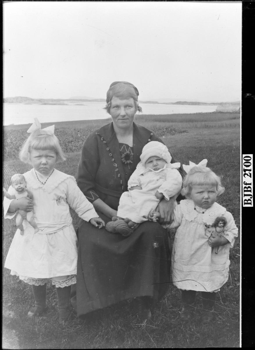 Familien Brandmo, Vallersund, Bjugn.