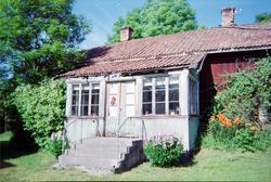 """""""Gammelbyggningen"""" i Boda, Mälby, Söderön, Börstils socken,"""