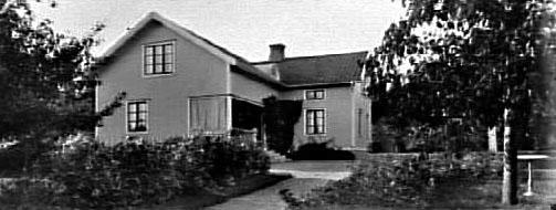 Bostadshuset till Lidens Handelsträdgård.