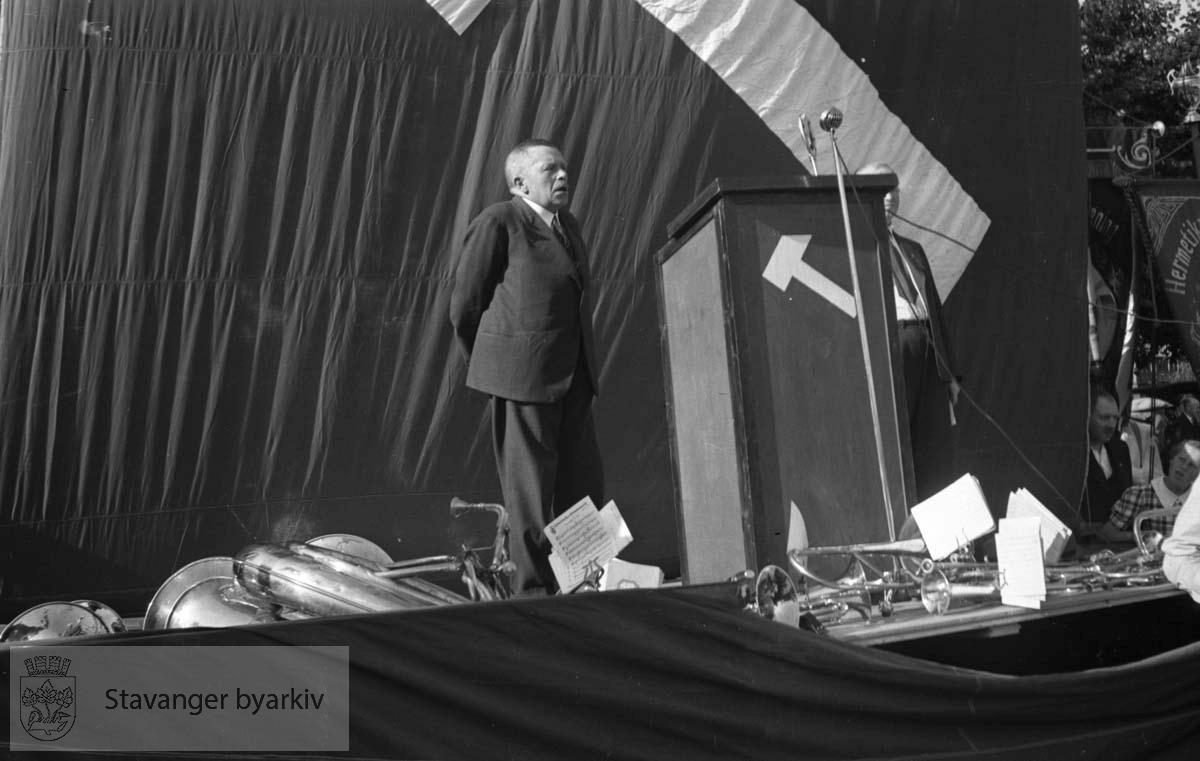 Arbeiderpartiets 50-årsjubileum, 1937.