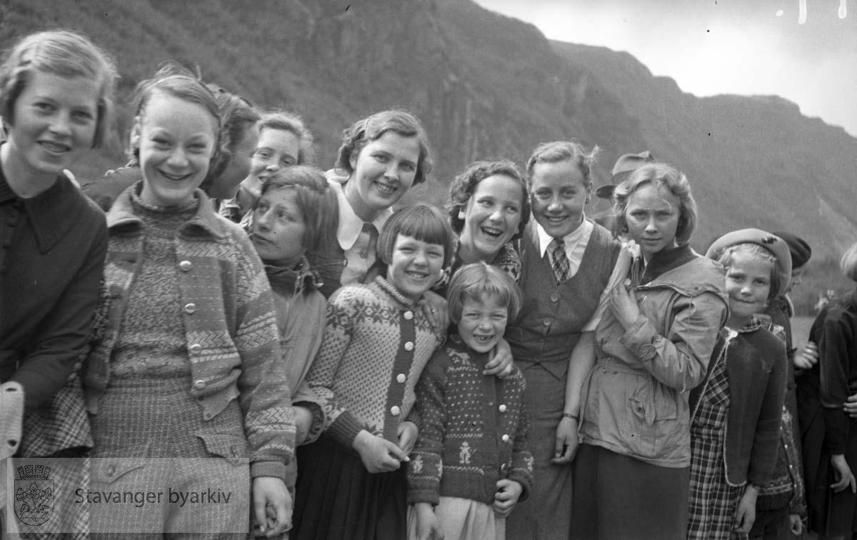 Metodistkirkens søndagsskole sin tur til Frafjord