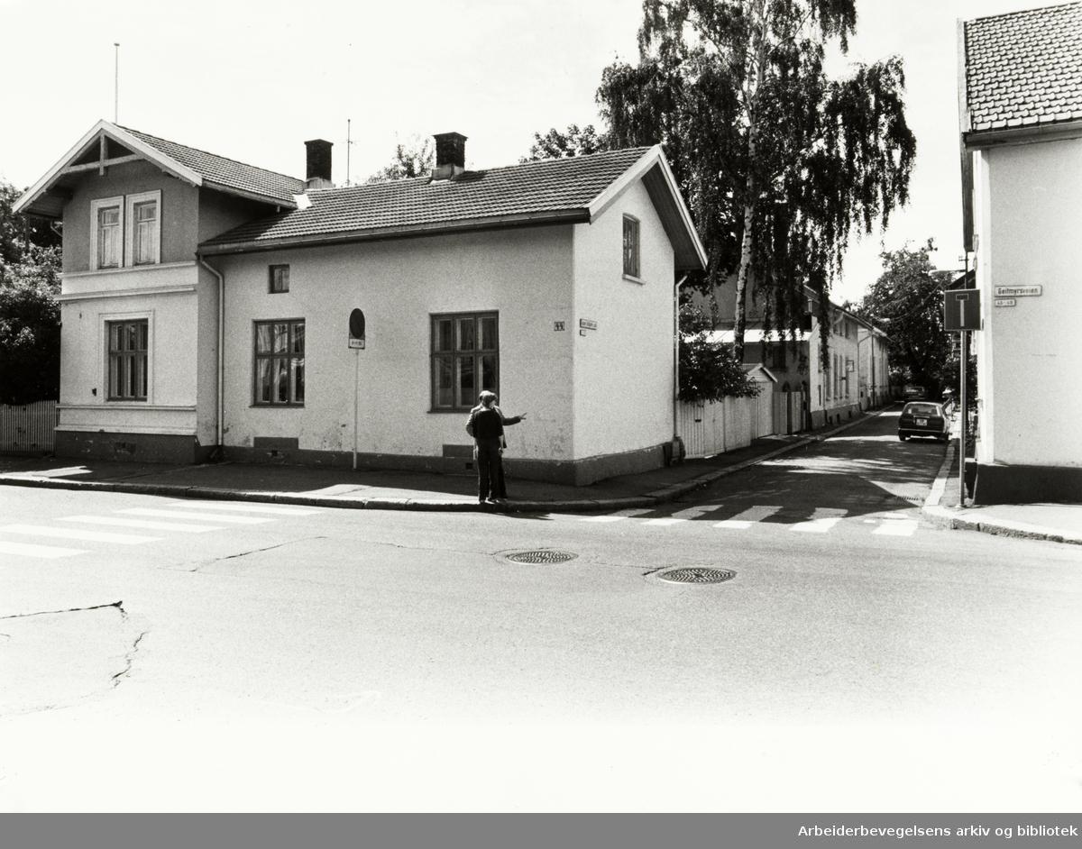 Geitmyrsveien 44. September 1981